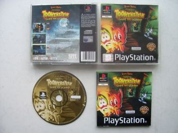 Toonstein Dare to Scare!   PS1 / 2 ... RARE